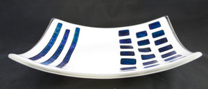 Thumb white dish with blue dicro 1