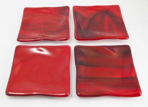 Thumb red coasters